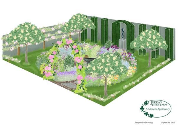 Jekka McVicar - A Modern Apothecary Royal Horticultural Society Media Image Collection