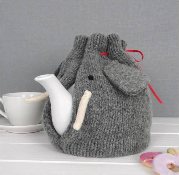 Elephant tea cosy from mybaboo on Etsy