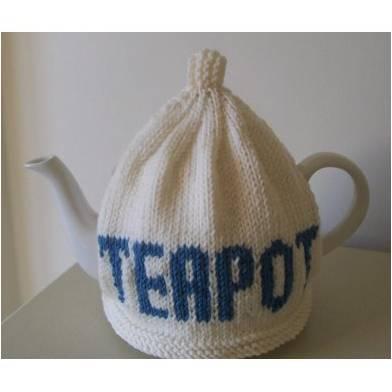 Tea pot tea cosy from Love Knitting