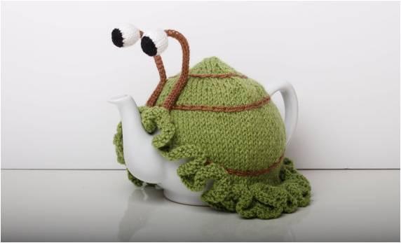 Ruperts House snail tea cosy