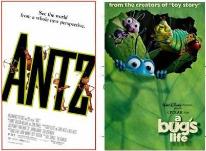 Antz 1998 & A Bugs Life 1998