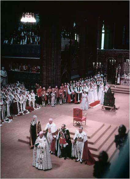 BiblioArchives / LibraryArchives from Canada - Coronation of Queen Elizabeth II