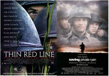 The Thin Red Line 1998 & Saving Private Ryan 1998