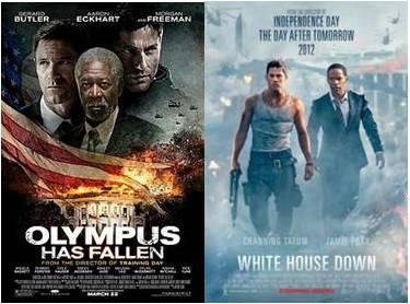 Olympus has fallen 2013 White House Down 2013