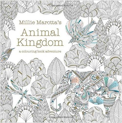 Millie Marotta's Animal Kingdom - A Colouring Book Adventur