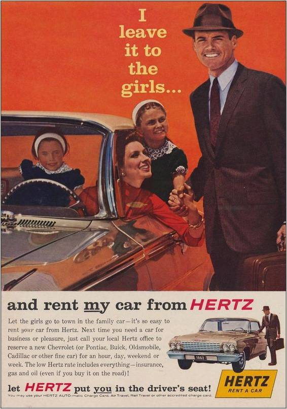 Vintage Hertz advert